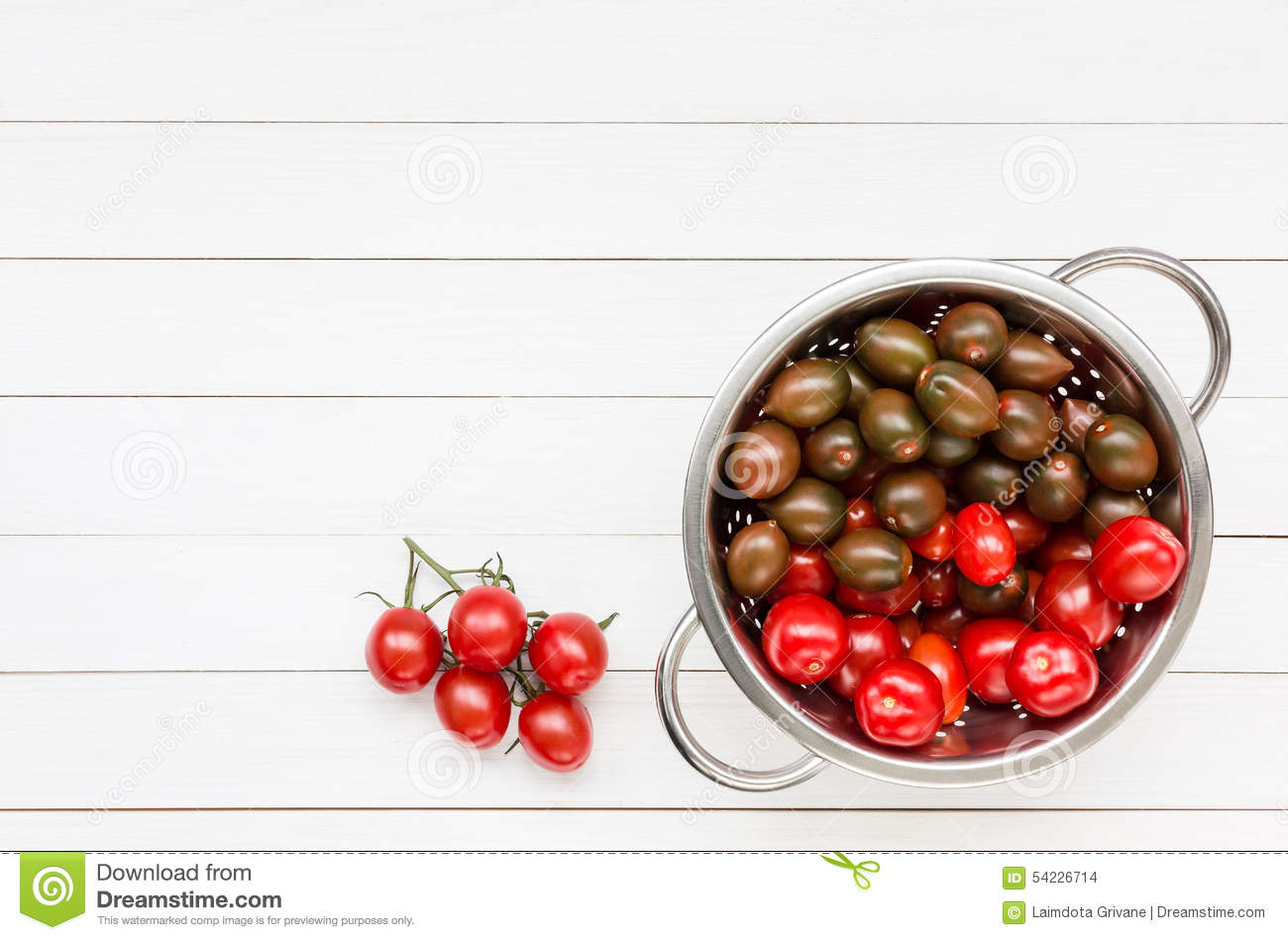 Cherry tomatoes - useful table decoration