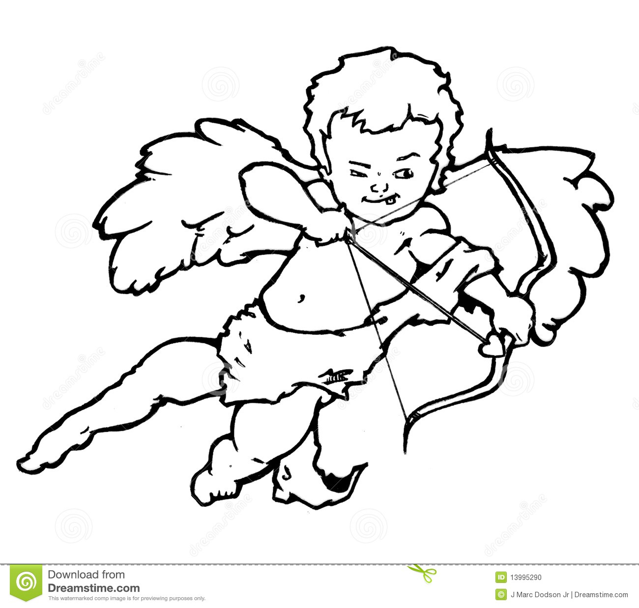 coloring pages cherubs - photo#27