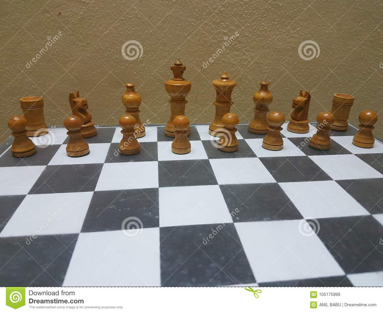 Chess Board Stock Image Image Of Black Board Coins 105175999