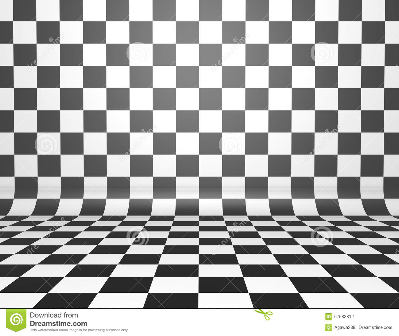 Chess Board Buy Checkered Chess Board Background Stock Illustration