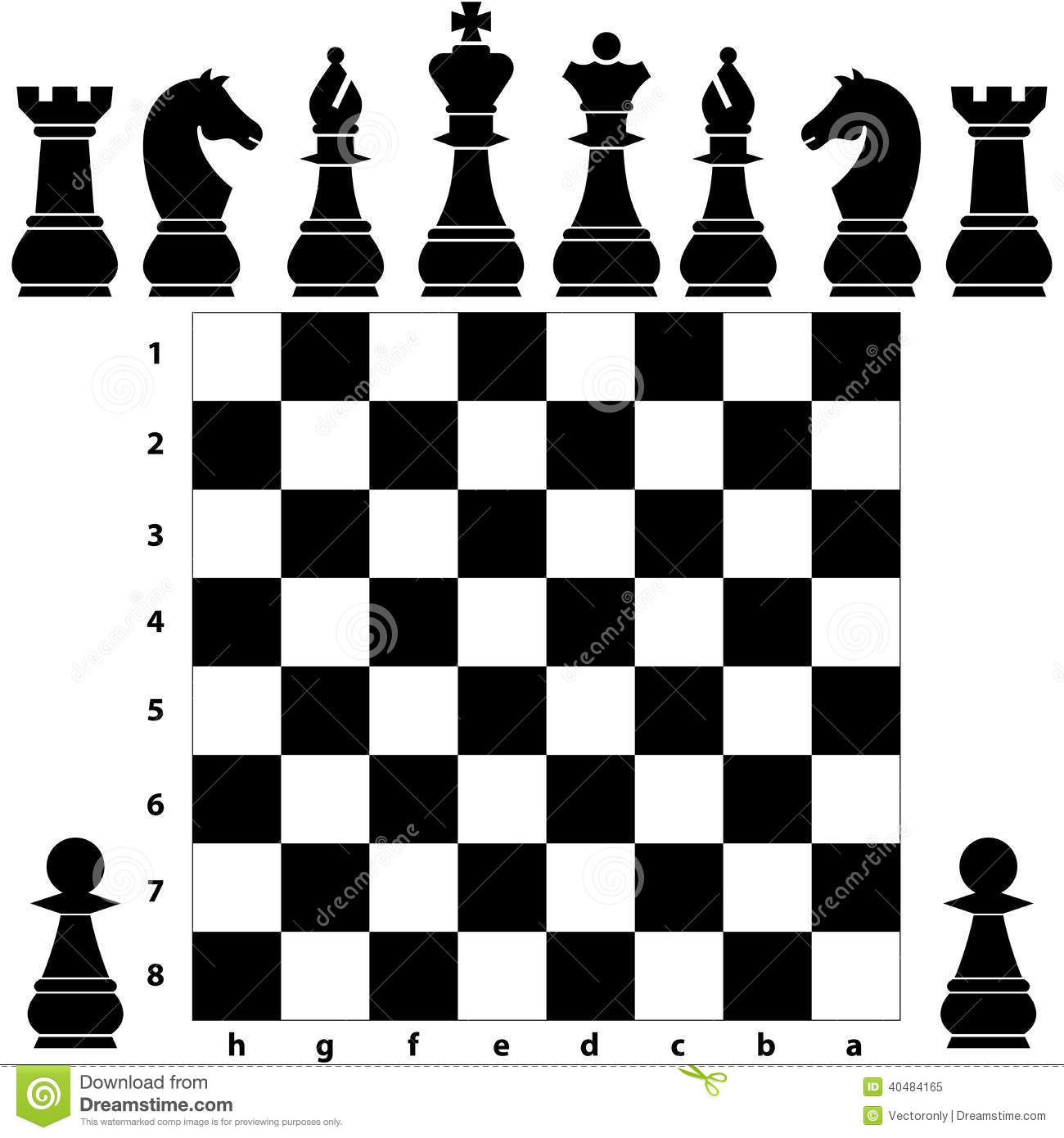free illustration chessboard render - photo #10