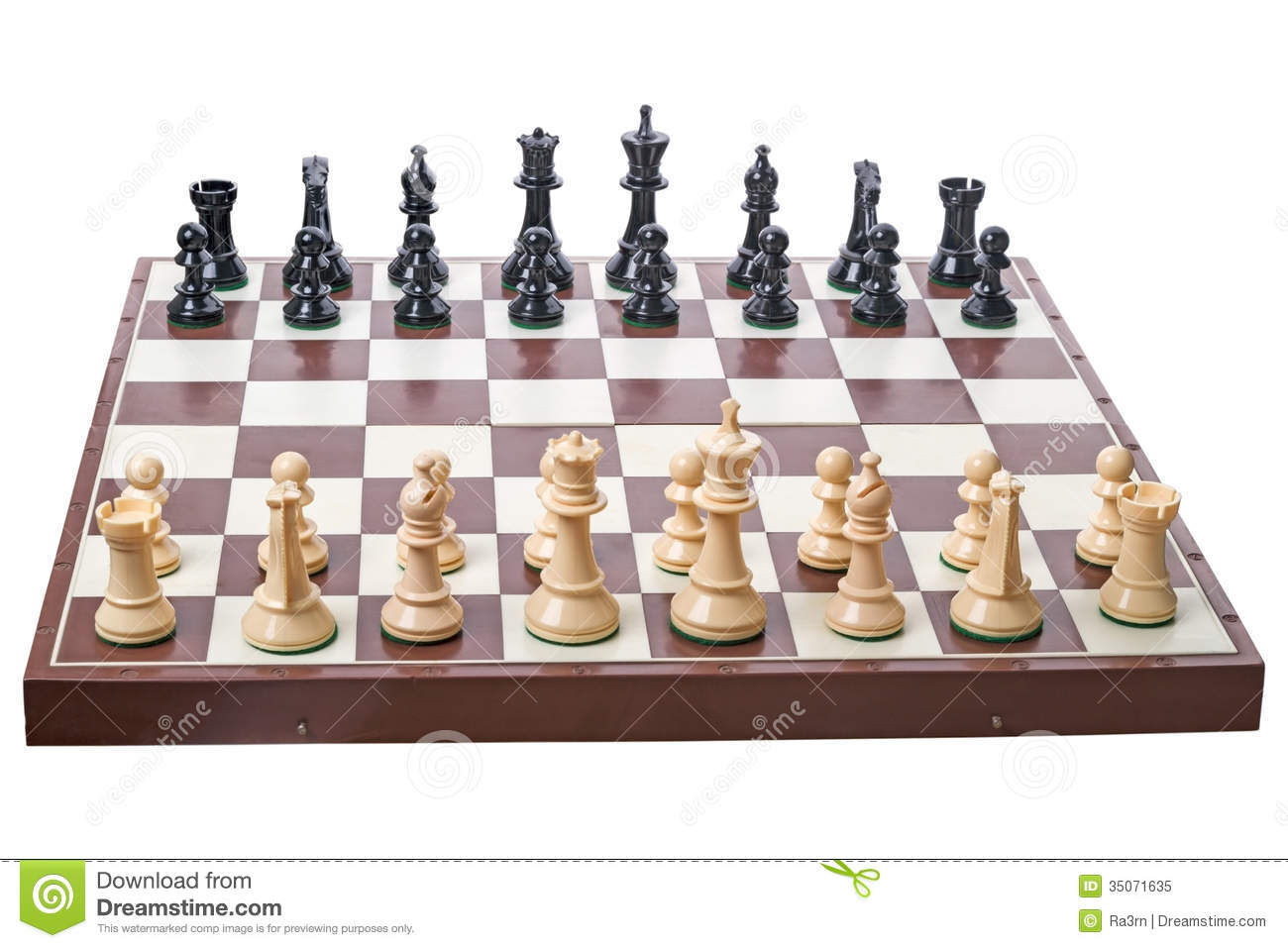 Fancy Chess Boards Chess Board And Pieces On White Royalty Free Stock Photo