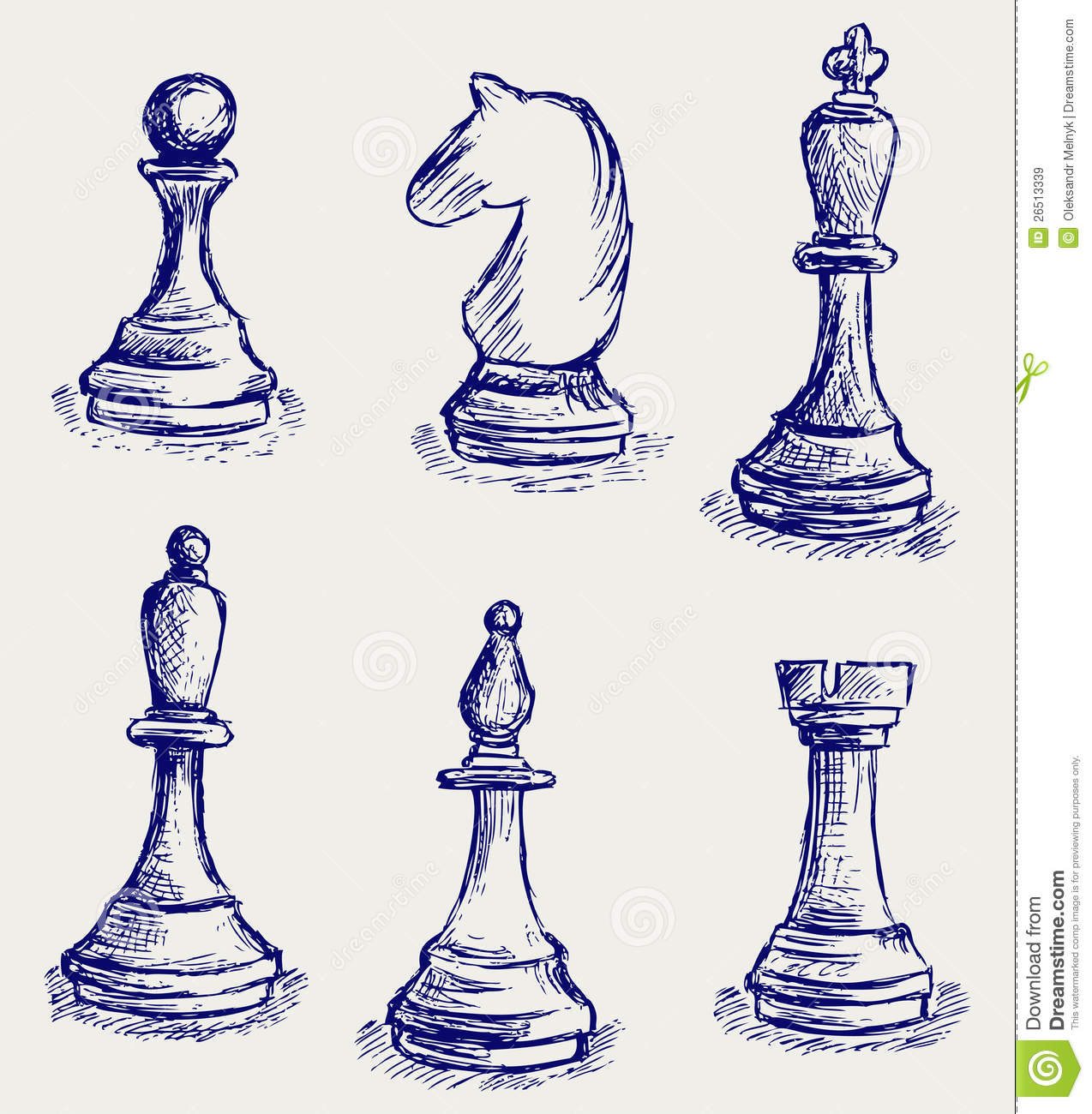 Chess Figures Royalty Free Stock Images - Image: 26513339