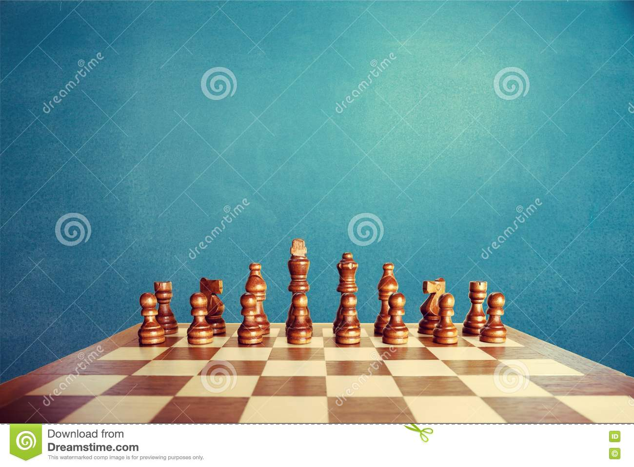 Chess game stock image  Image of rental, debt, down, move
