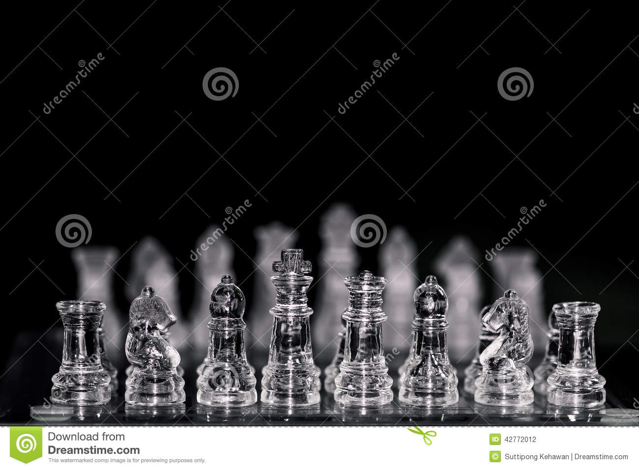 Chess game stock photo  Image of strategy, strategic - 42772012