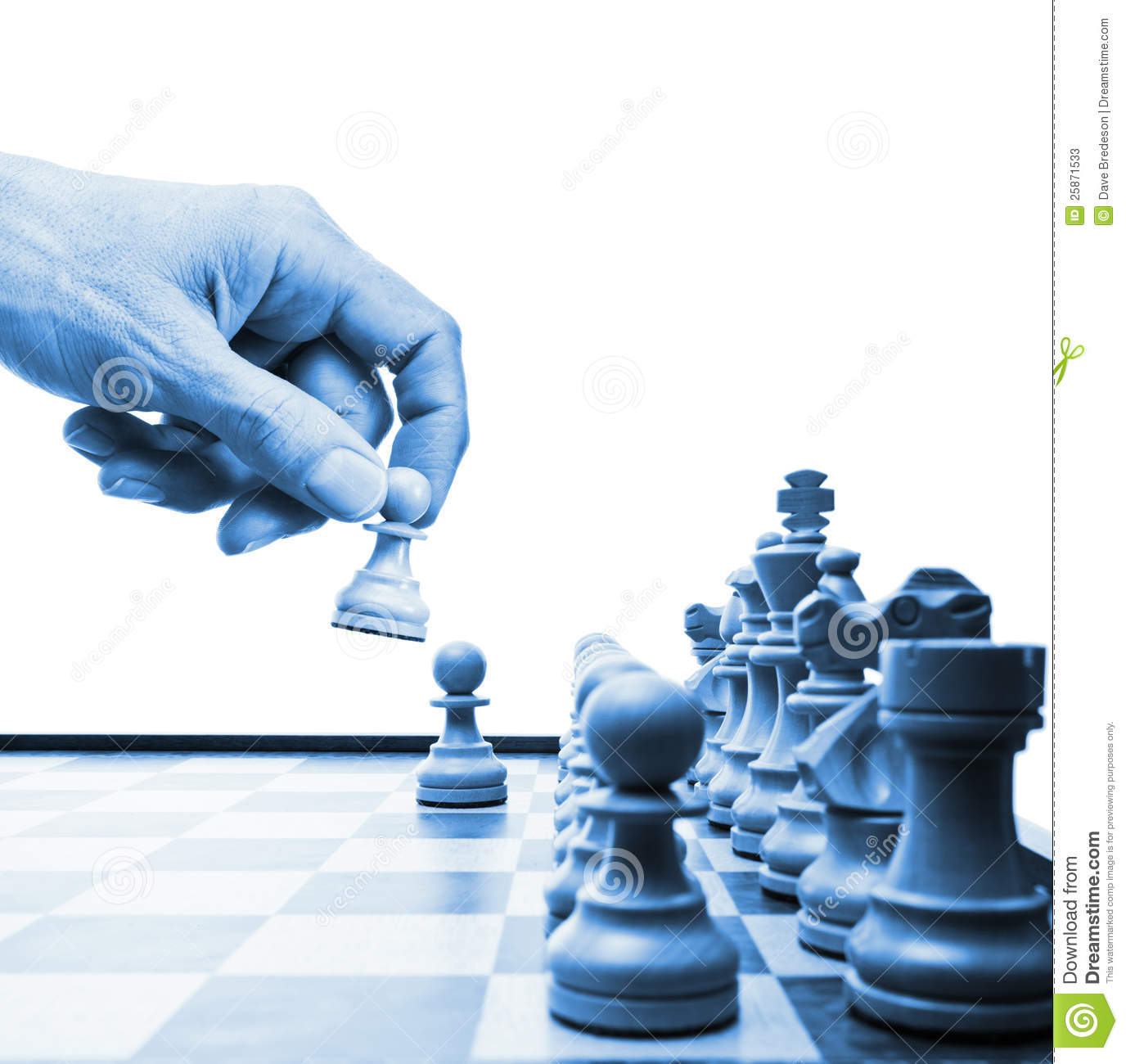 Cool Chess Pieces Chess Move Hand Business Strategy Stock Image Image