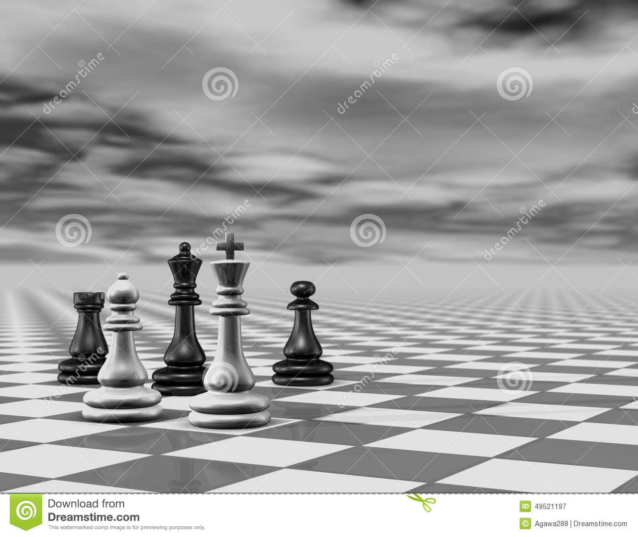 free illustration chessboard render - photo #27
