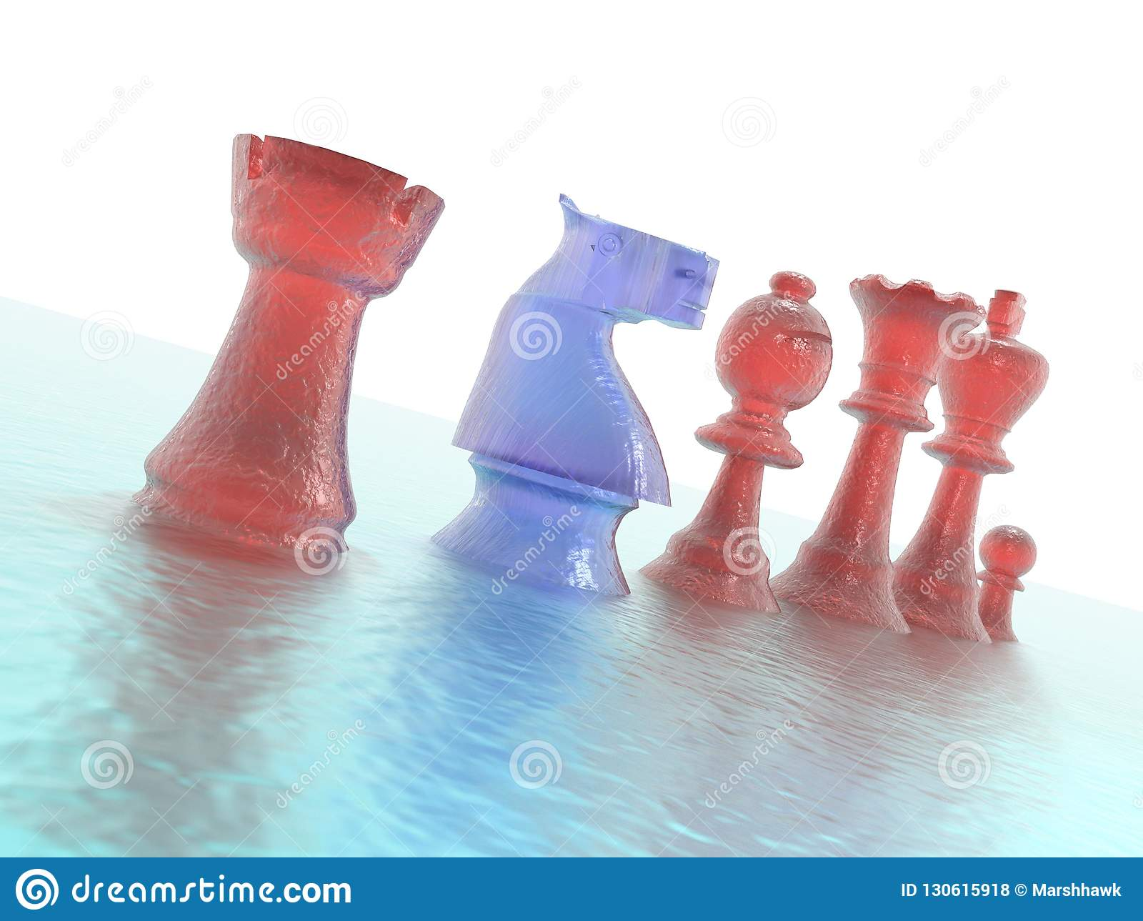 Porn King Castle chess pieces closeup stock photo. image of knight, rook