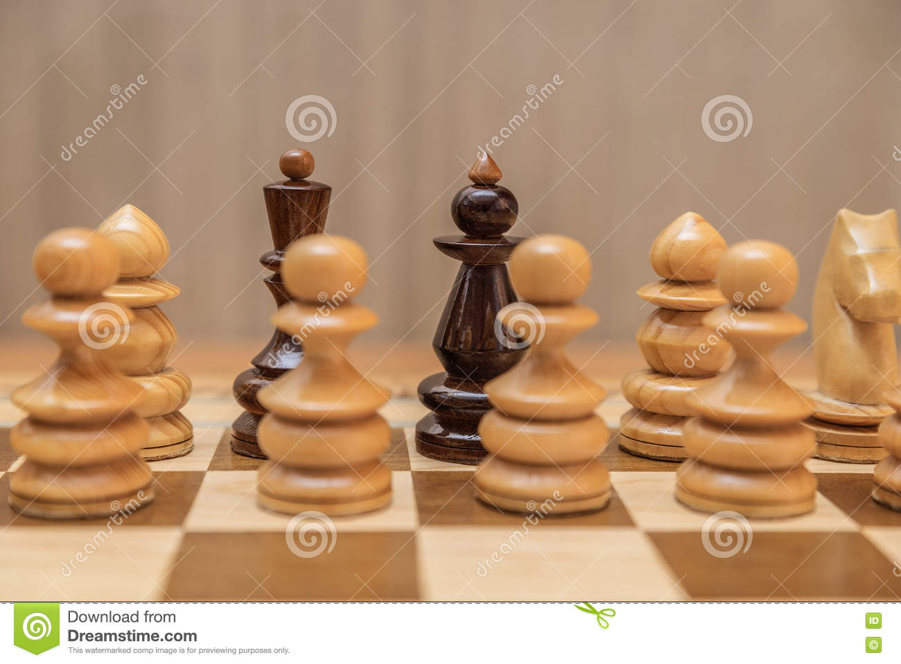 Chess Pieces King And Queen Stock Photo Image Of Pieces Game
