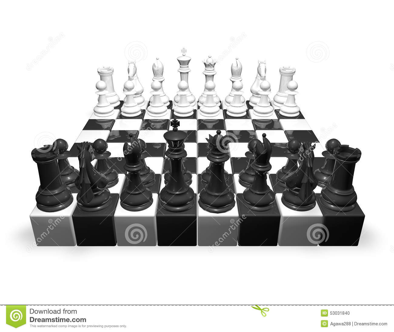 free illustration chessboard render - photo #23