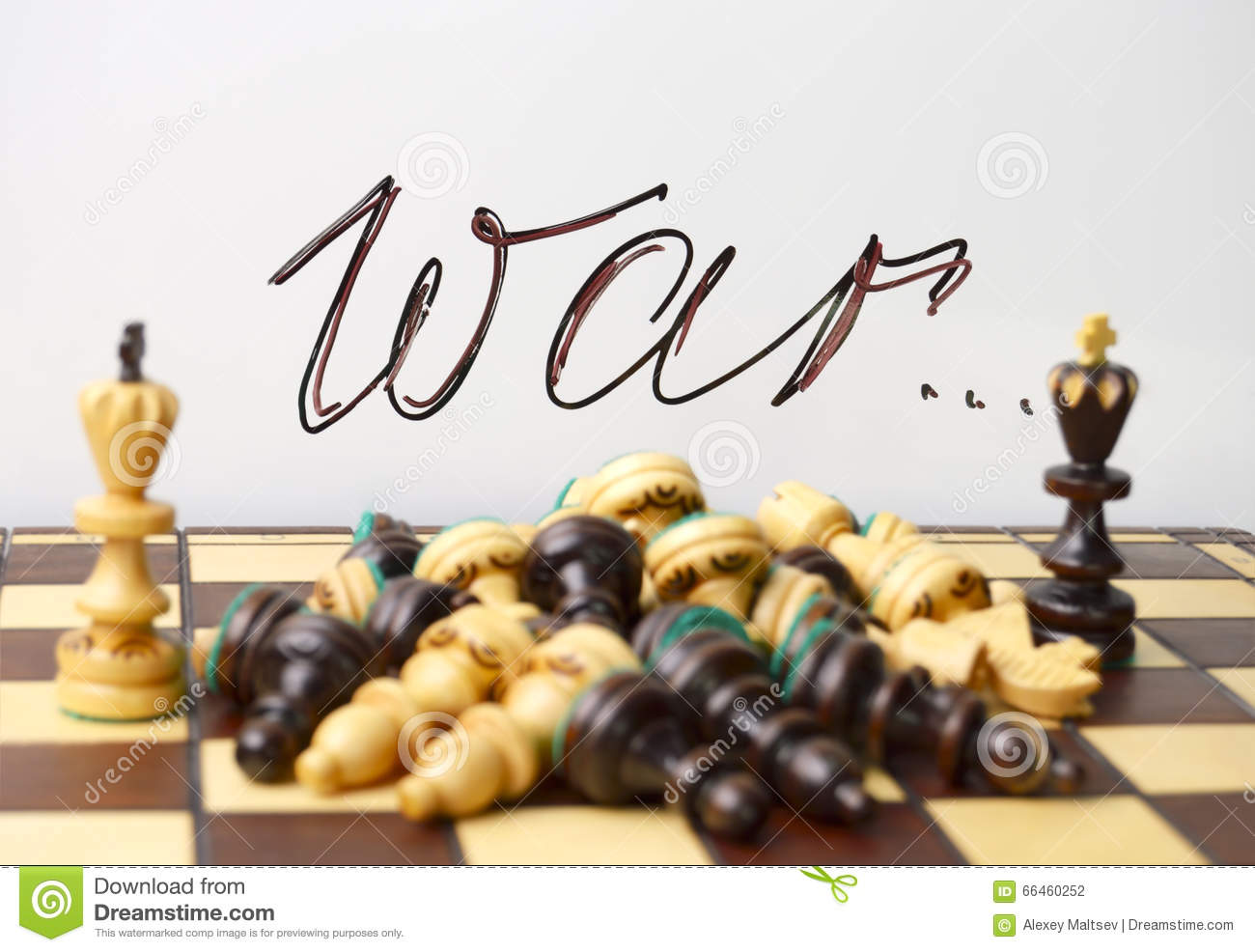 Chess symbols of war and death stock photo image of pieces royalty free stock photo biocorpaavc Gallery