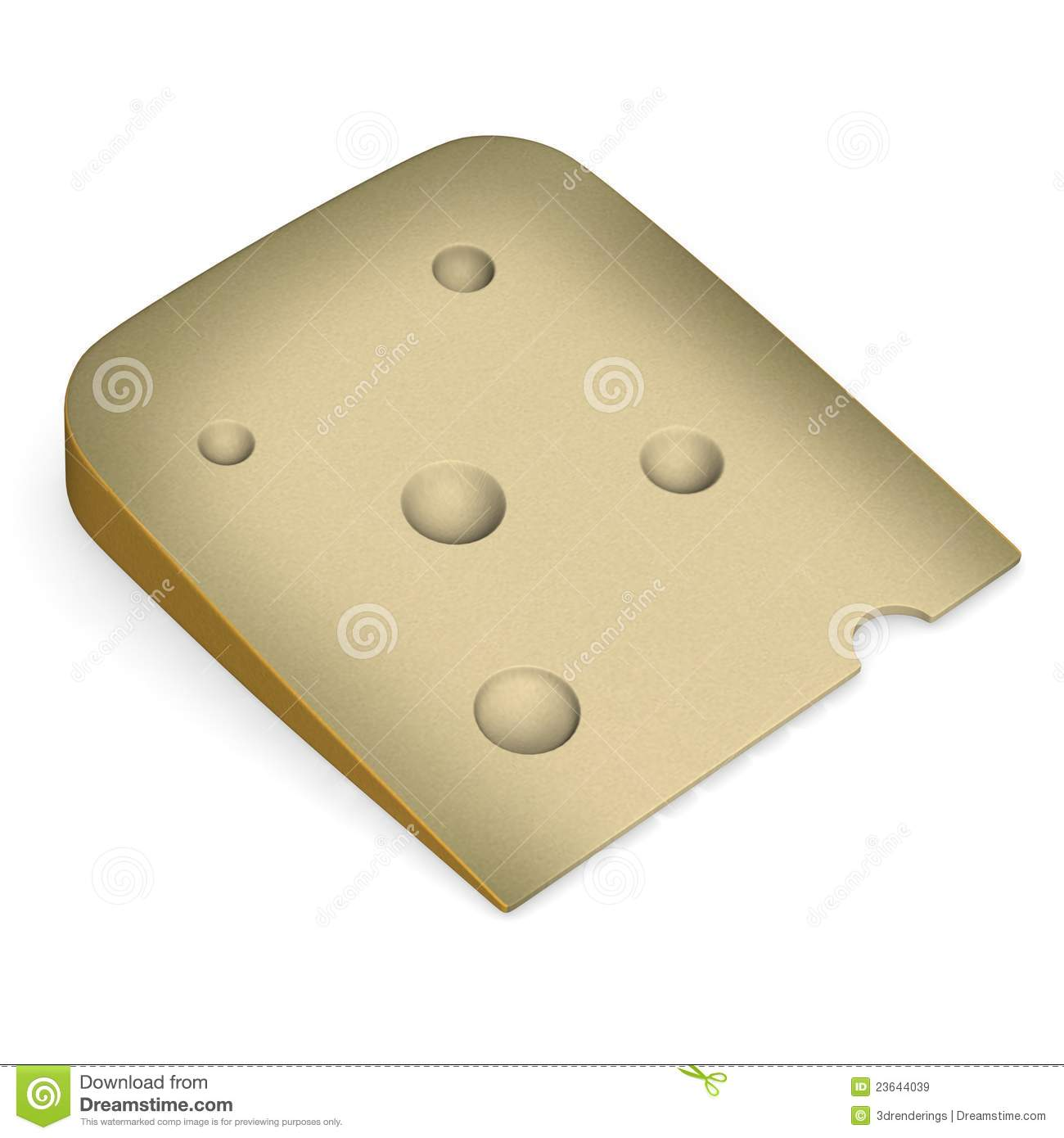Chesse Slice Royalty Free Stock Images - Image: 23644039