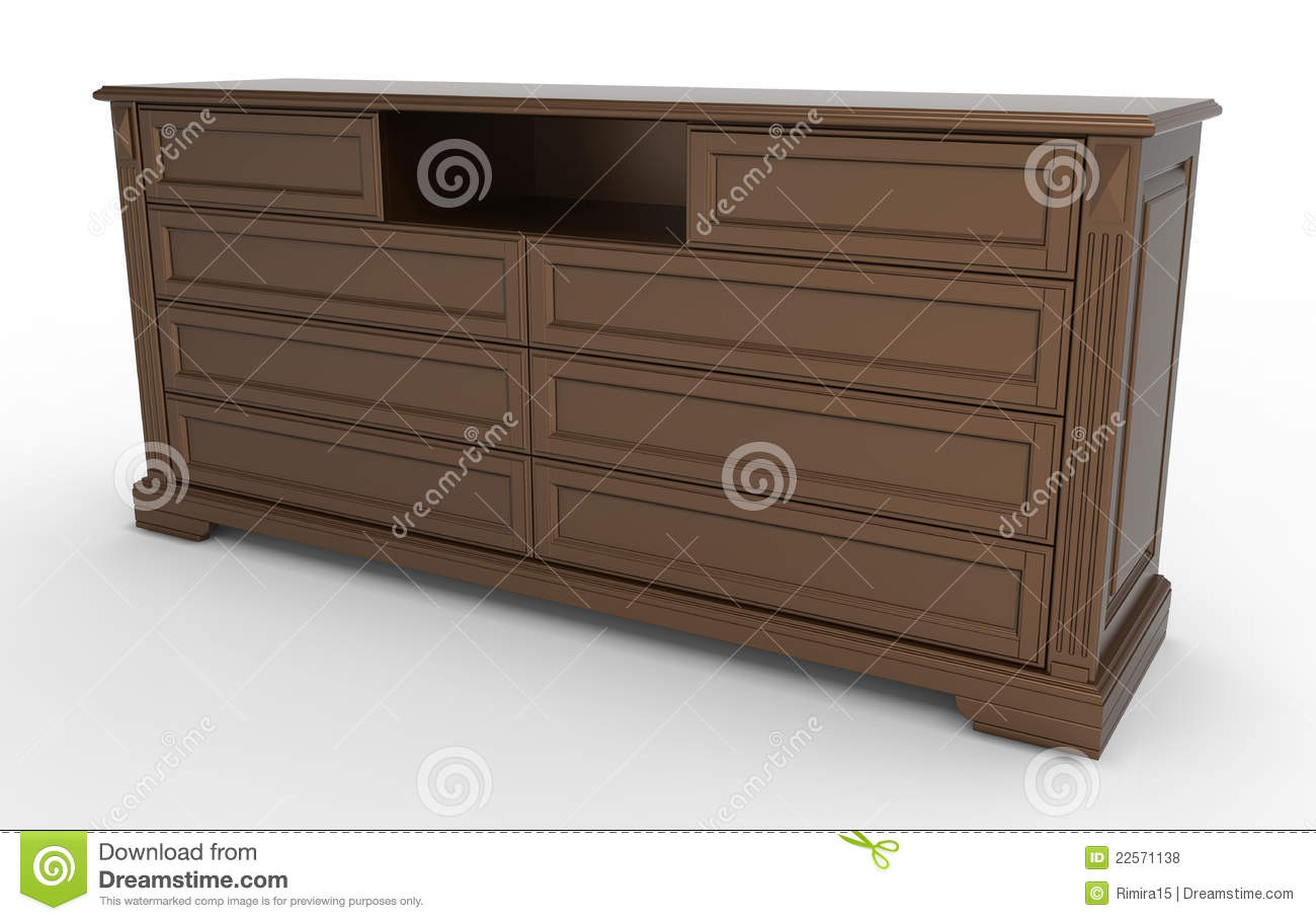 Amazing photo of Chest Of Drawers For Clothes Royalty Free Stock Photos Image  with #87A526 color and 1300x909 pixels