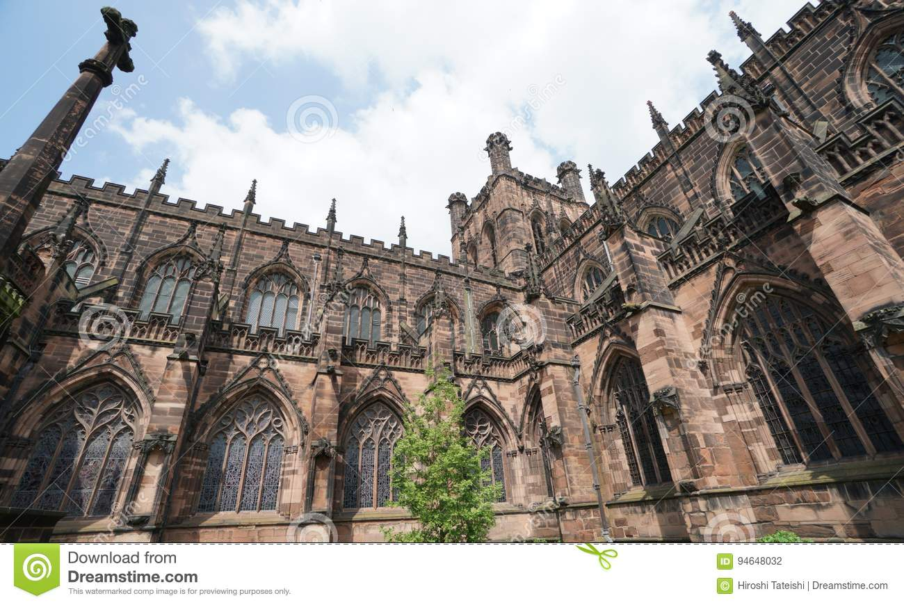 Chester Cathedral, Chester het UK