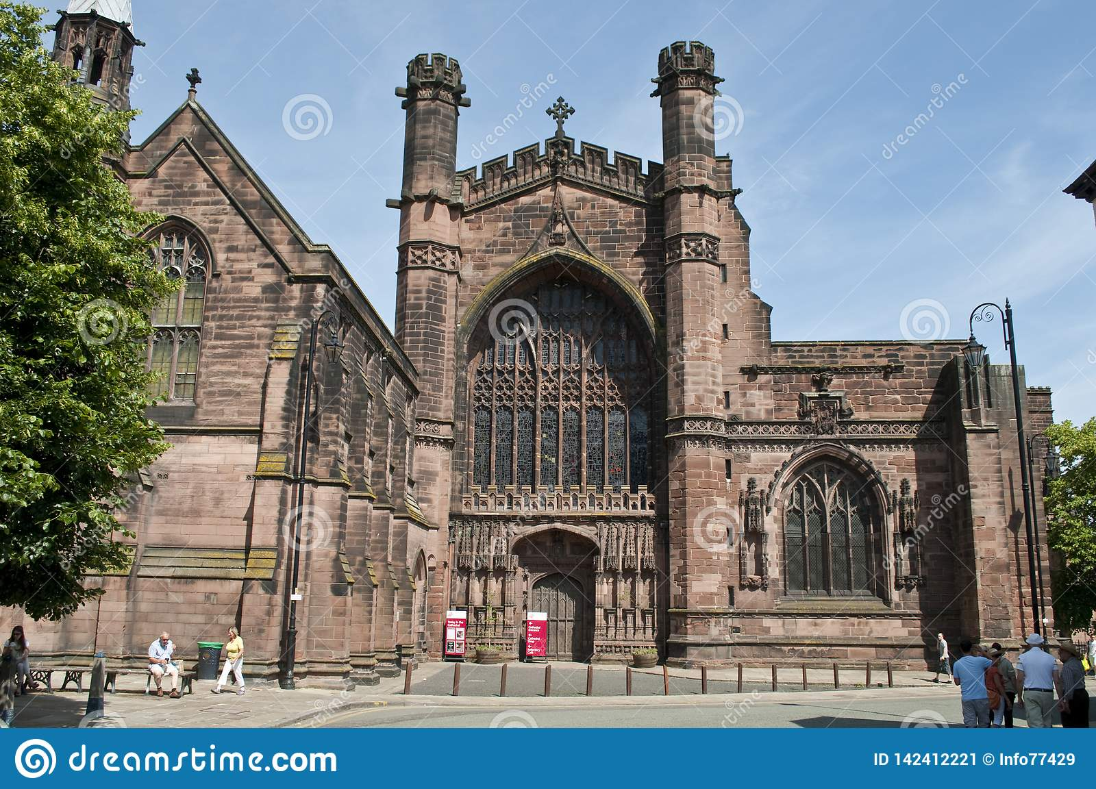 Chester Cathedral, Chester, het UK