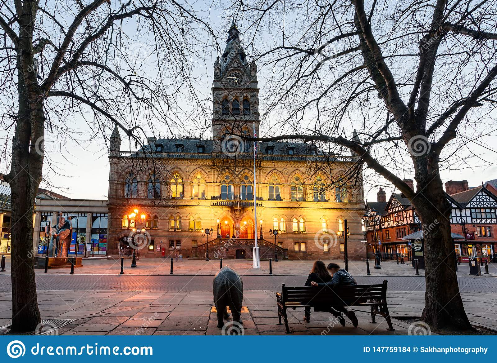 Chester Town Hall R-U