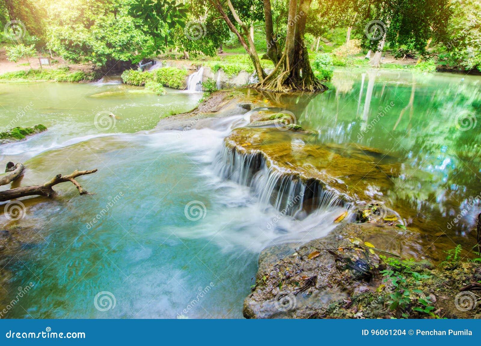 Chet Sao Noi Waterfall, Saraburi, Thaïlande