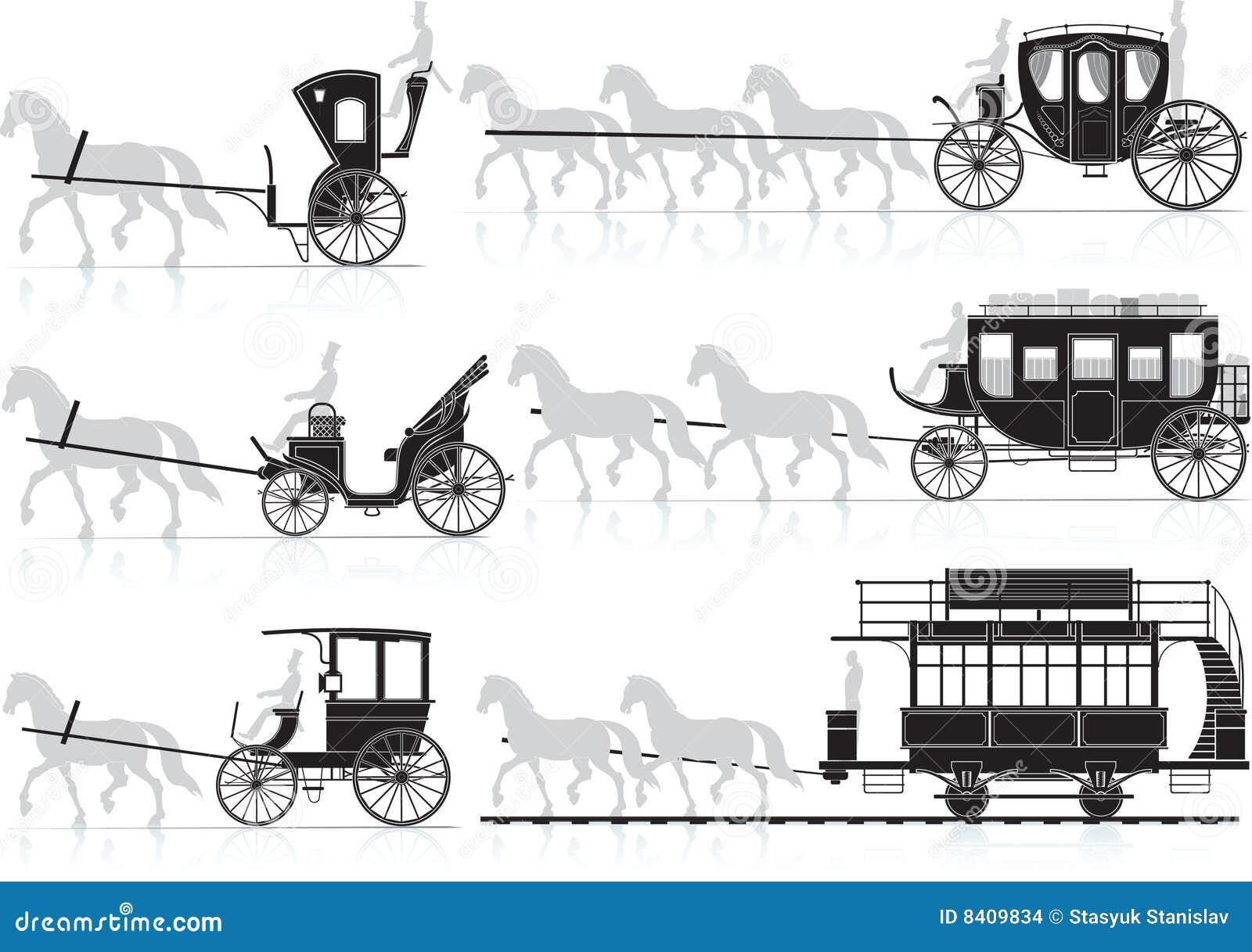 Cheval de chariot