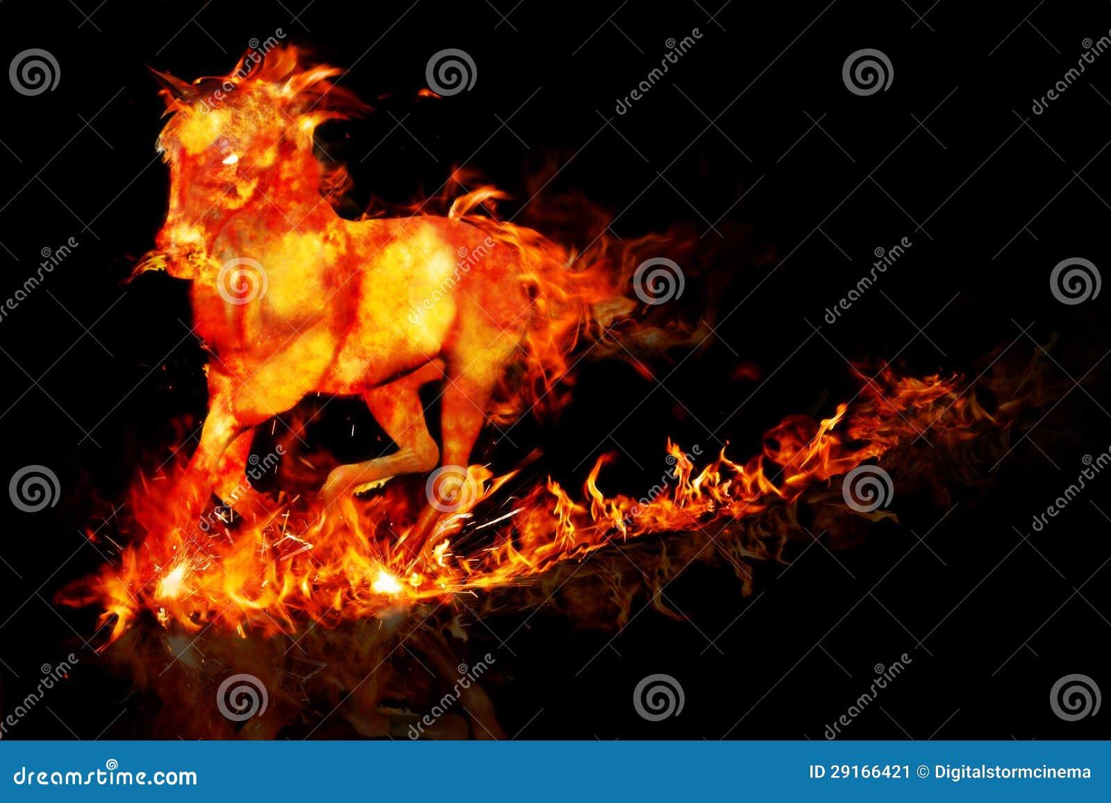 Cheval du feu