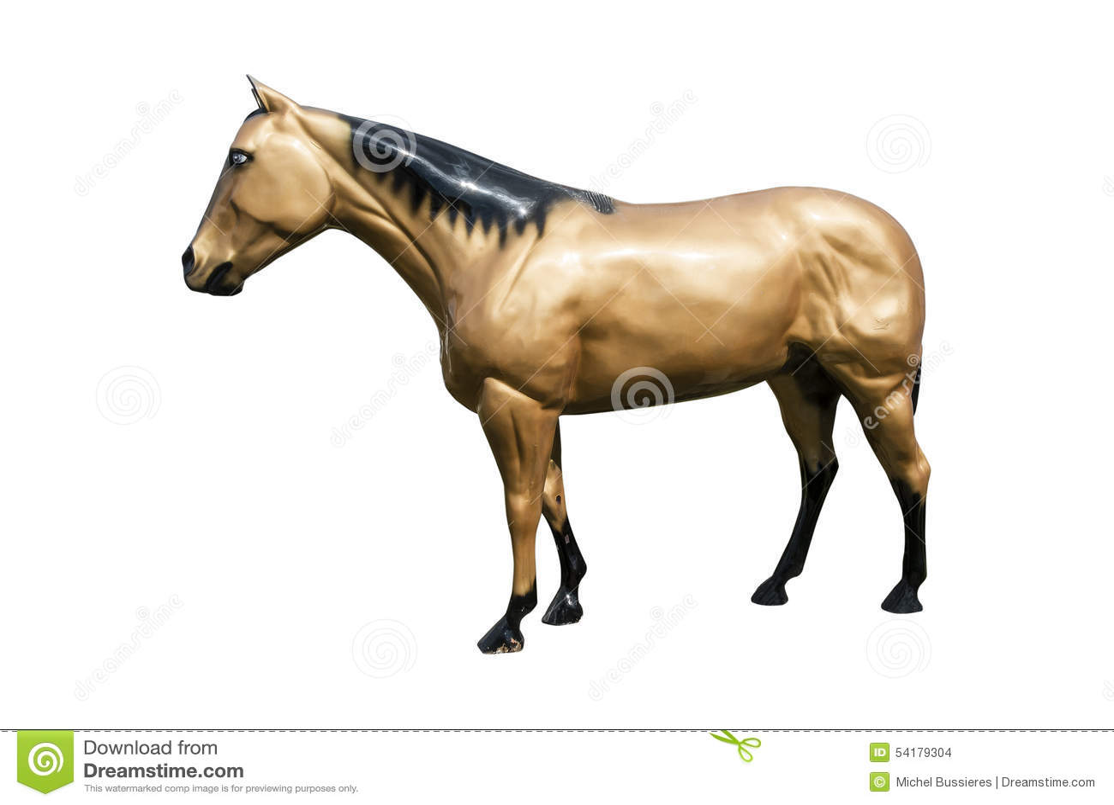 cheval en plastique photo stock image 54179304. Black Bedroom Furniture Sets. Home Design Ideas