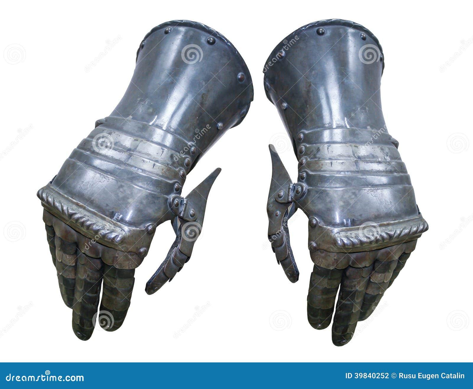 Chevalier de gants d armure