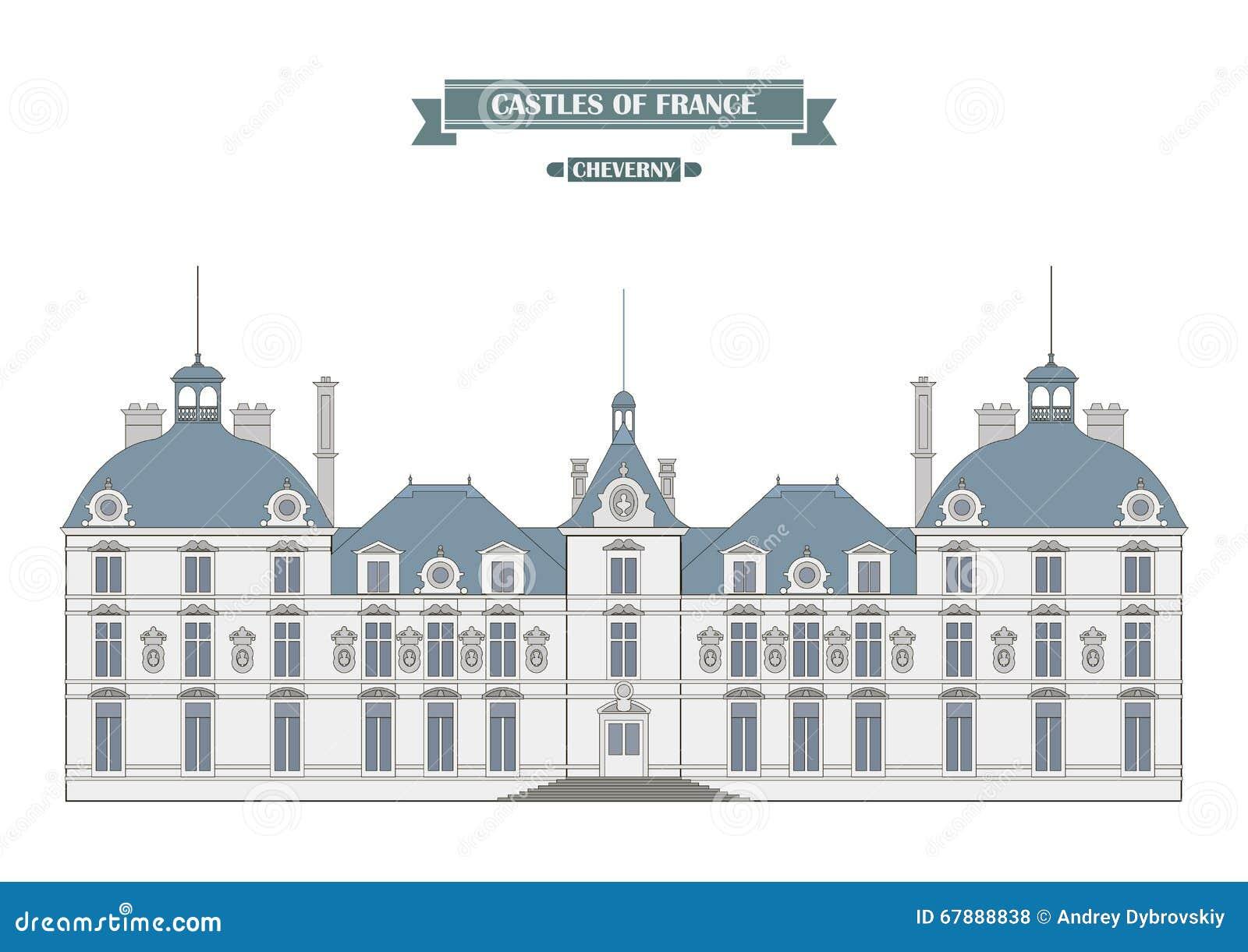 Cheverny城堡,法国