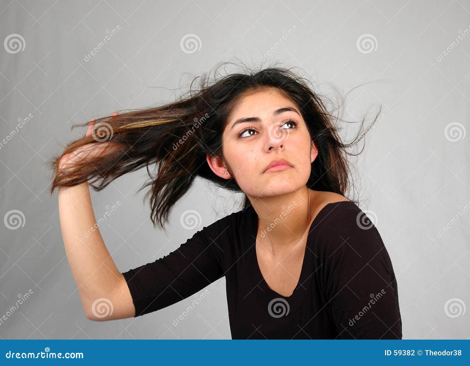 Download Cheveu dance-8 photo stock. Image du beau, beauté, femelle - 59382