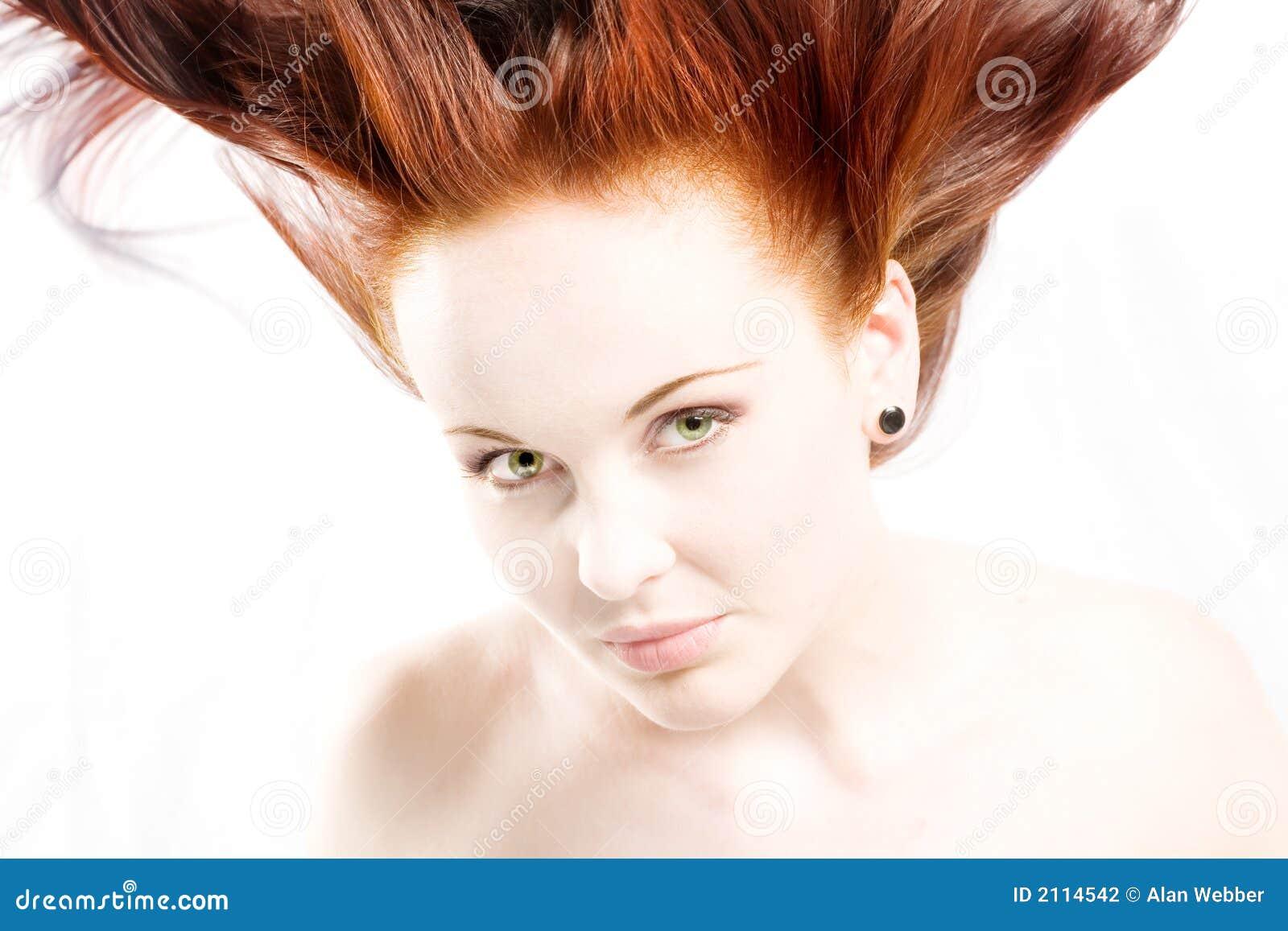 Cheveu rouge