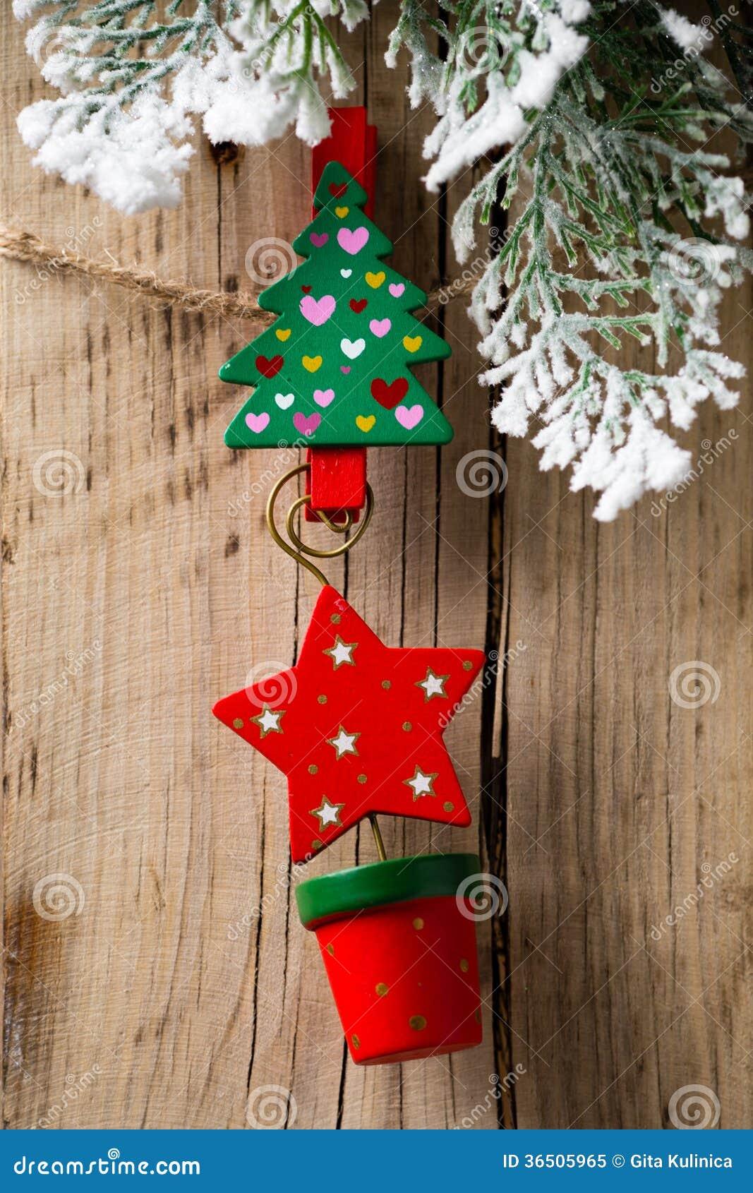 Cheville de Noël