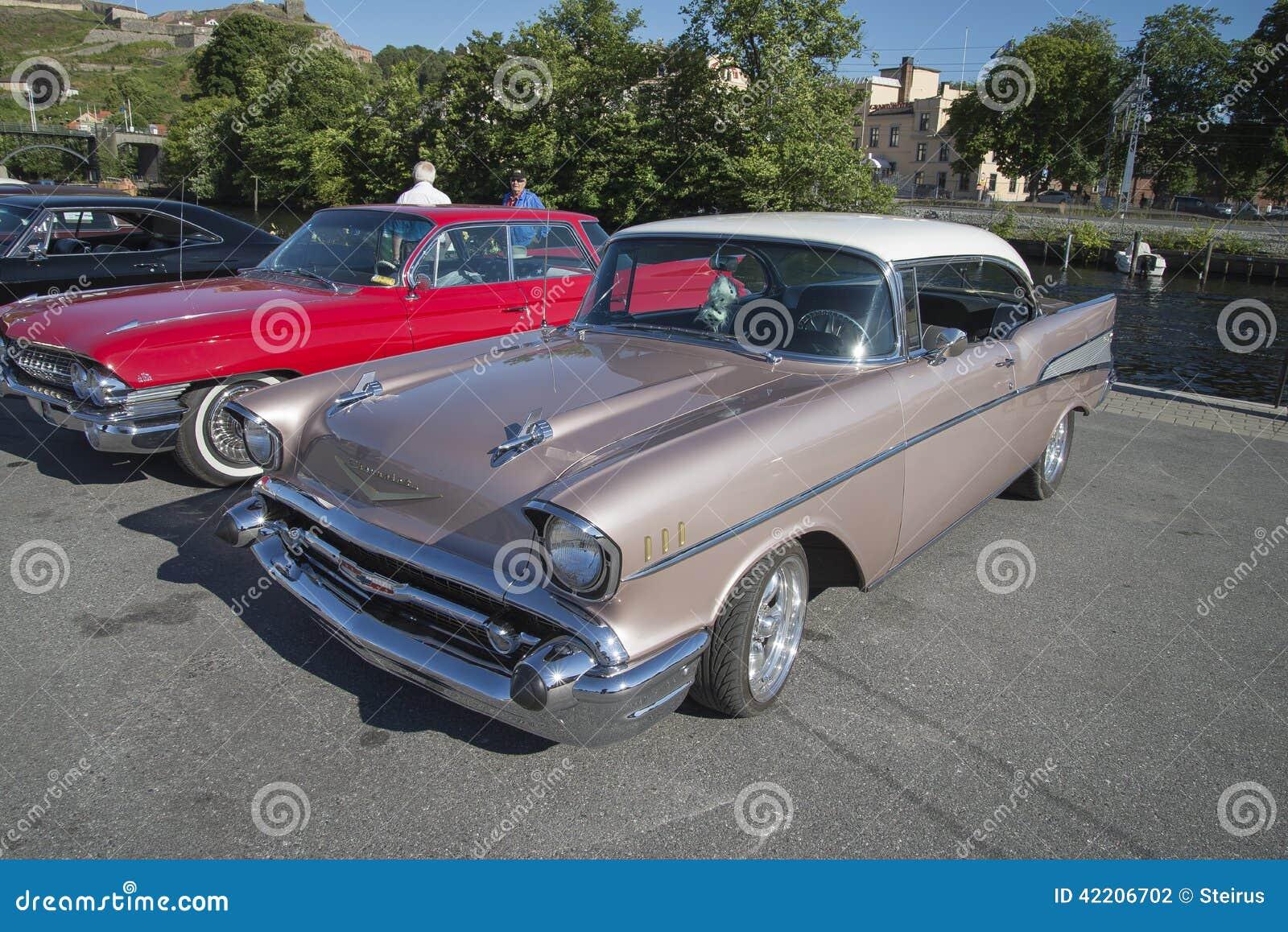 1957 Chevrolet Bel Air 2 Door Hardtop Editorial Photography Image Chevy 4