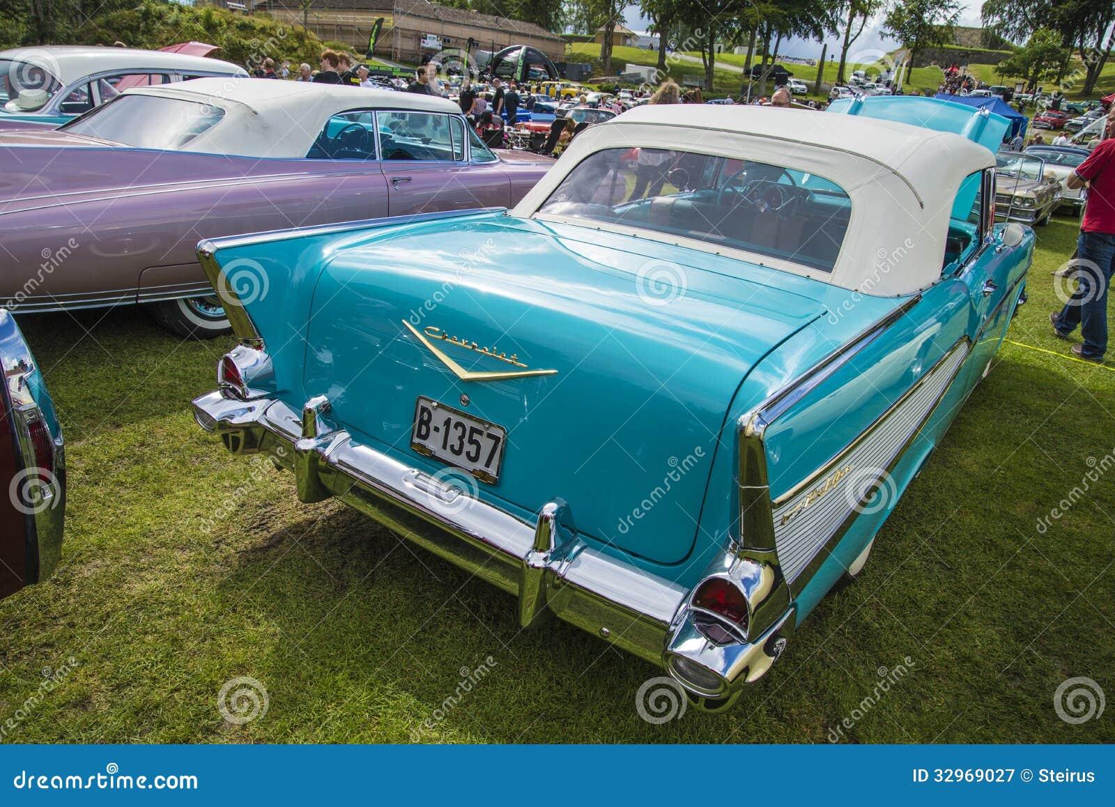 1957 Chevy Bel Air Blue Carnutts Info