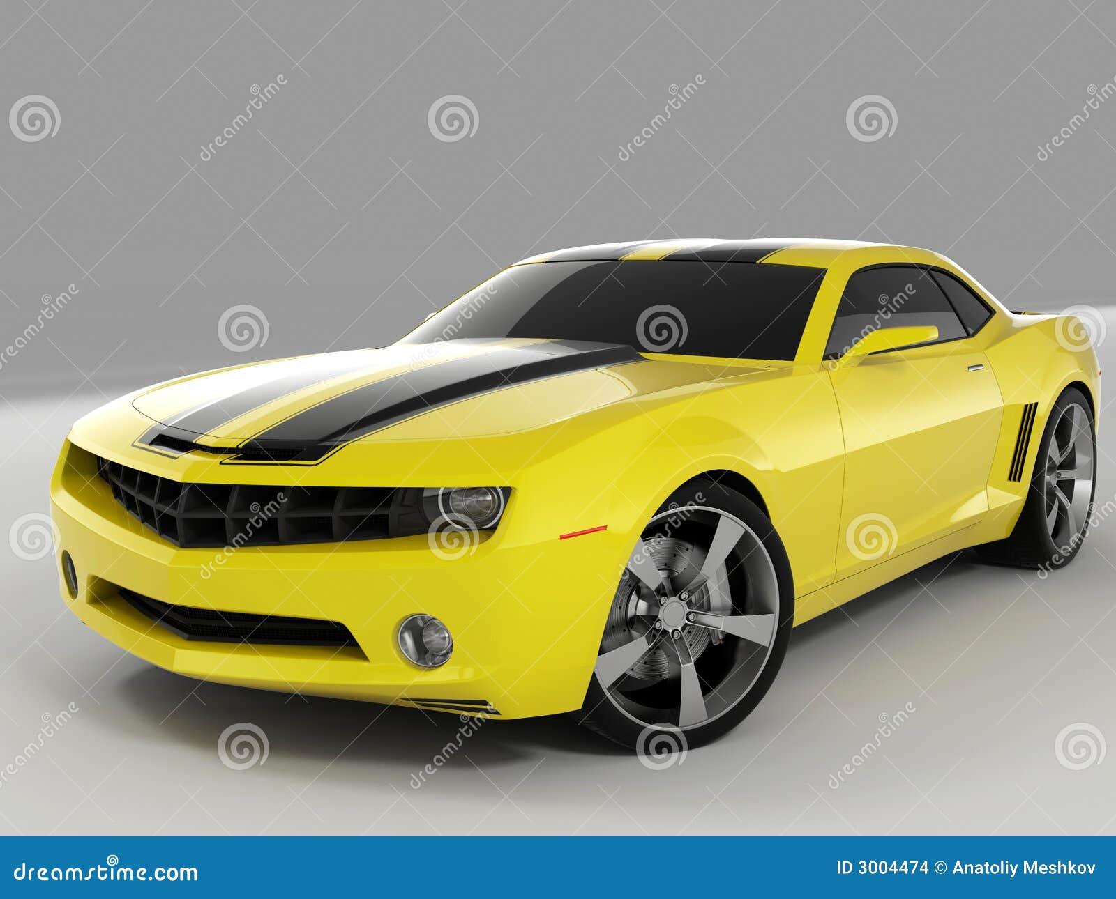 Chevrolet Camaro Concept 2009 Stock Images Image 3004474