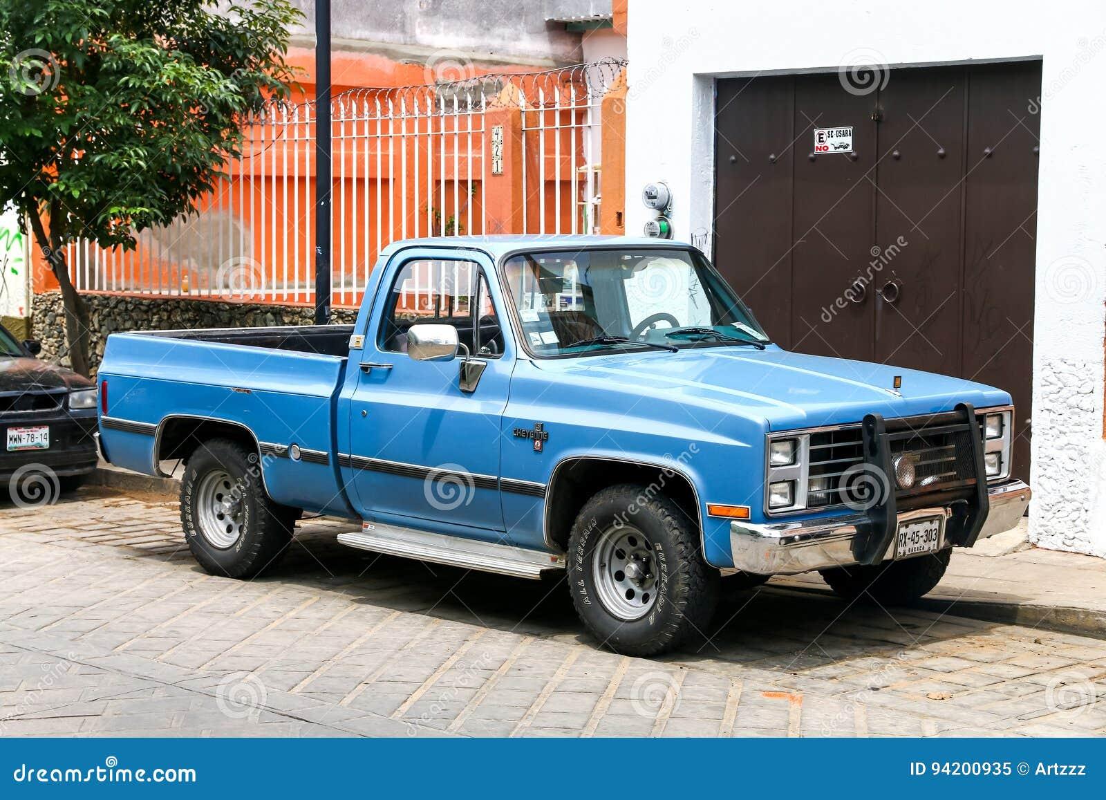 Chevrolet Cheyenne Redaktionelles Bild Bild Von Motor 94200935