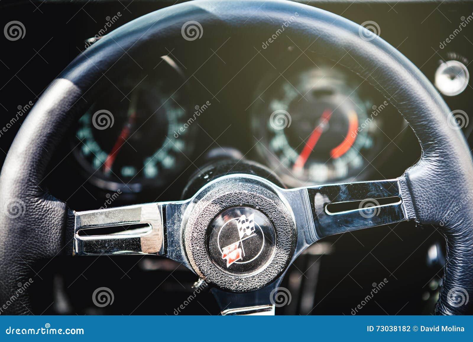 Chevrolet Corvette C3 styrninghjul