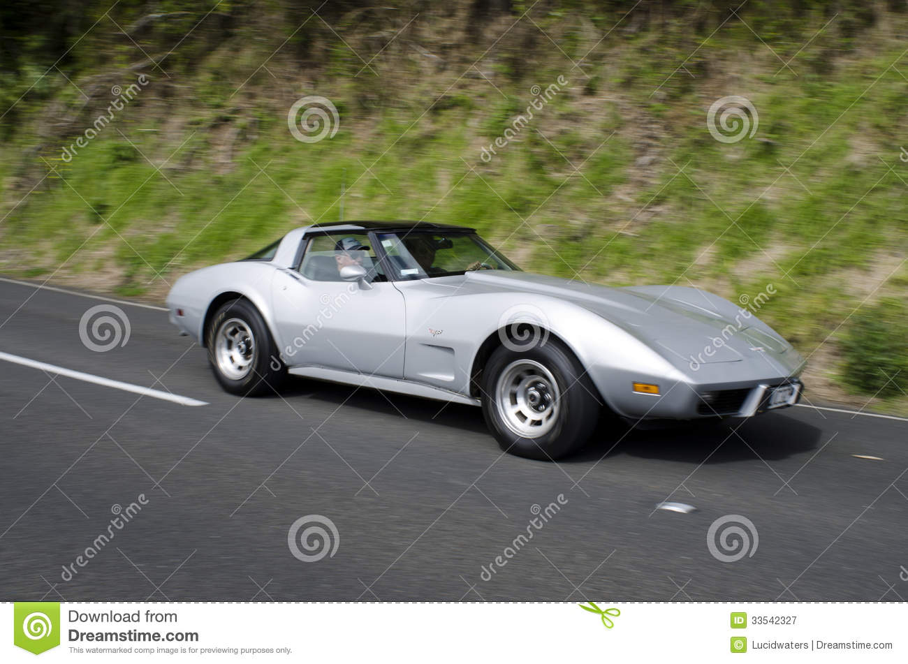 Chevrolet Corvette Stingray Coupe Editorial Photography Image Of 1954 Chevy