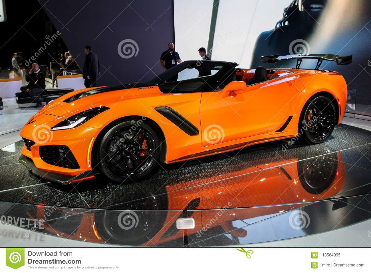 Chevrolet Corvette ZR Editorial Image Image Of Corvette - Jacob javits center car show 2018