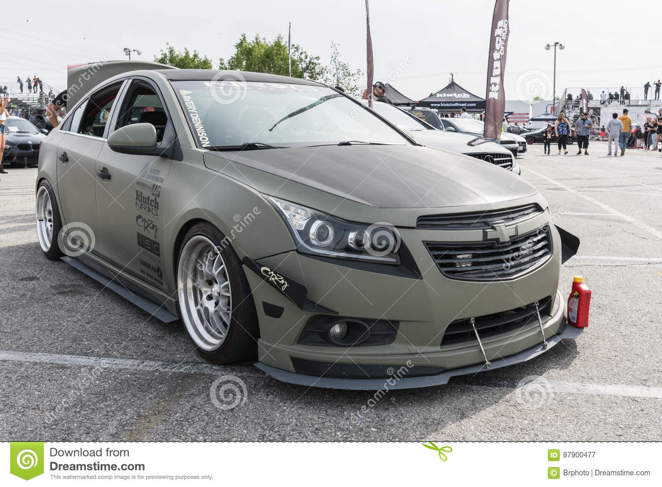Chevrolet Cruze Modified On Display Editorial Photography Image Of
