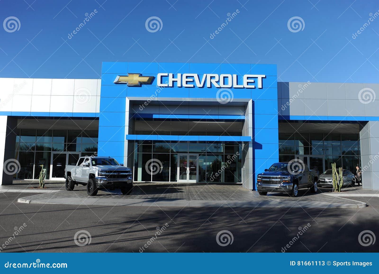 Chevrolet Dealership Editorial Stock Photo Image Of Transport 81661113