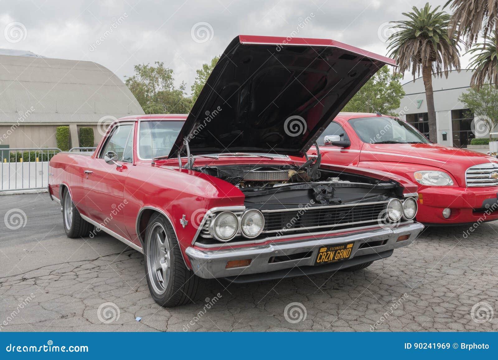 2017 Chevy El Camino >> Chevrolet El Camino On Display Editorial Stock Image Image