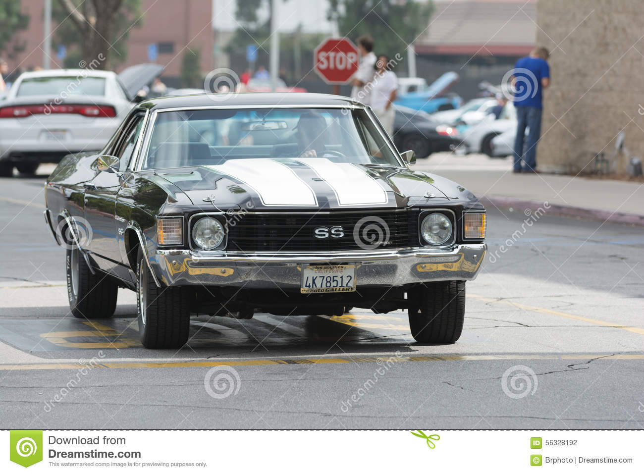 Chevrolet El Camino Ss Car On Display Editorial Photography