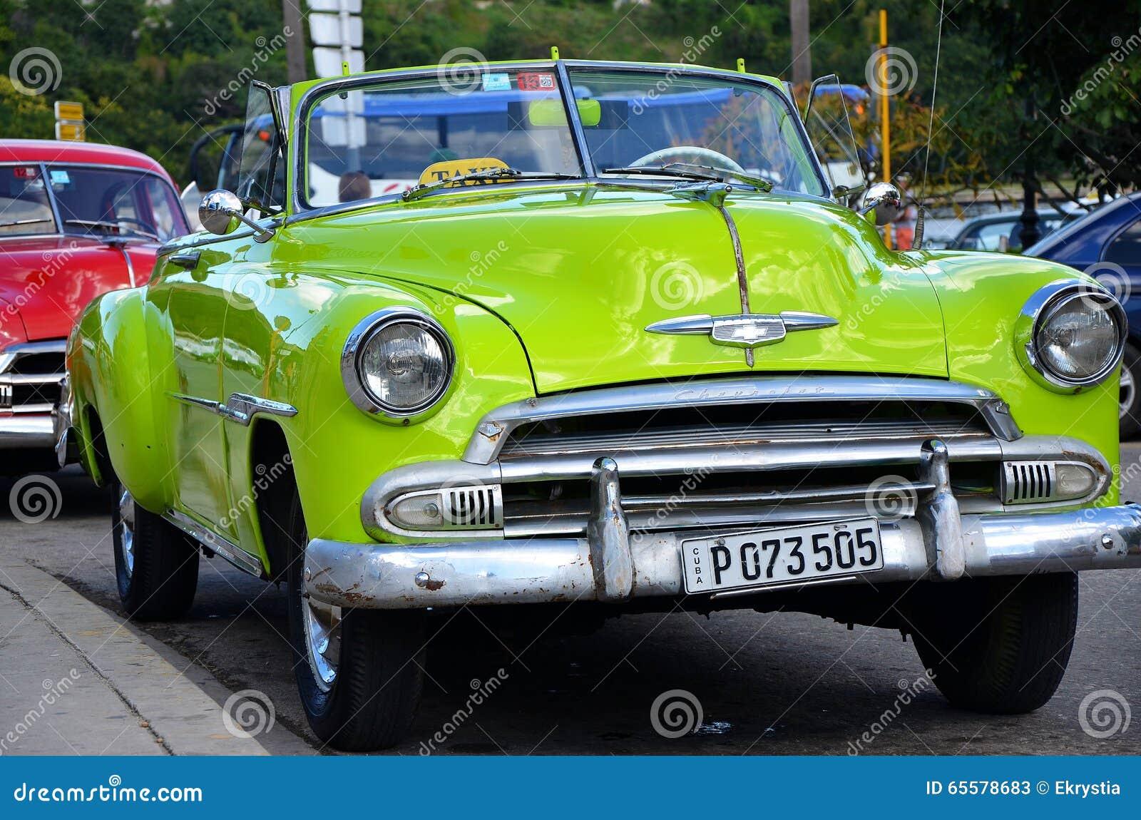 Chevrolet em Havana velho, Cuba