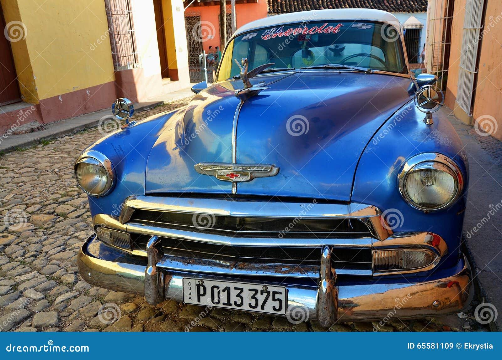 Chevrolet em Trinidad colonial, Cuba