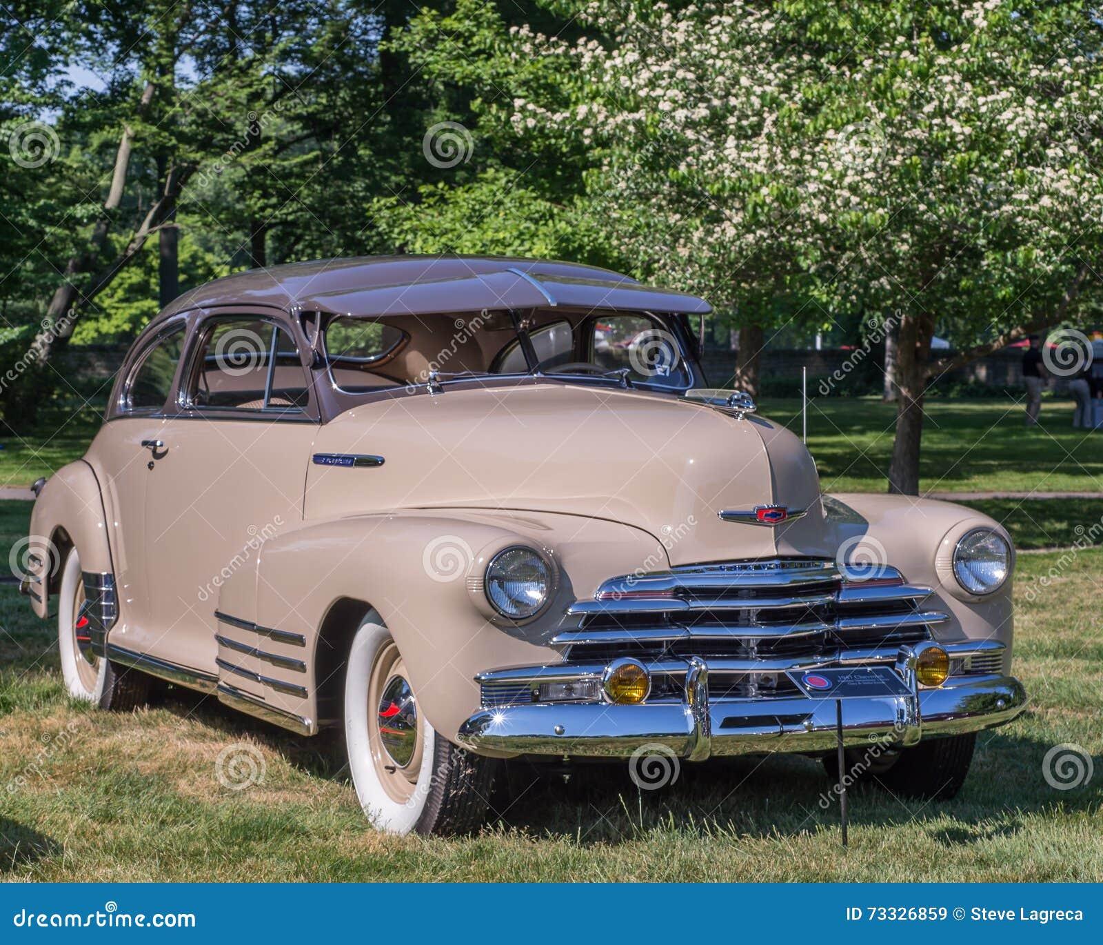Chevrolet 1947 Fleetline Redaktionelles Stockbild Bild Von Schnitt 73326859