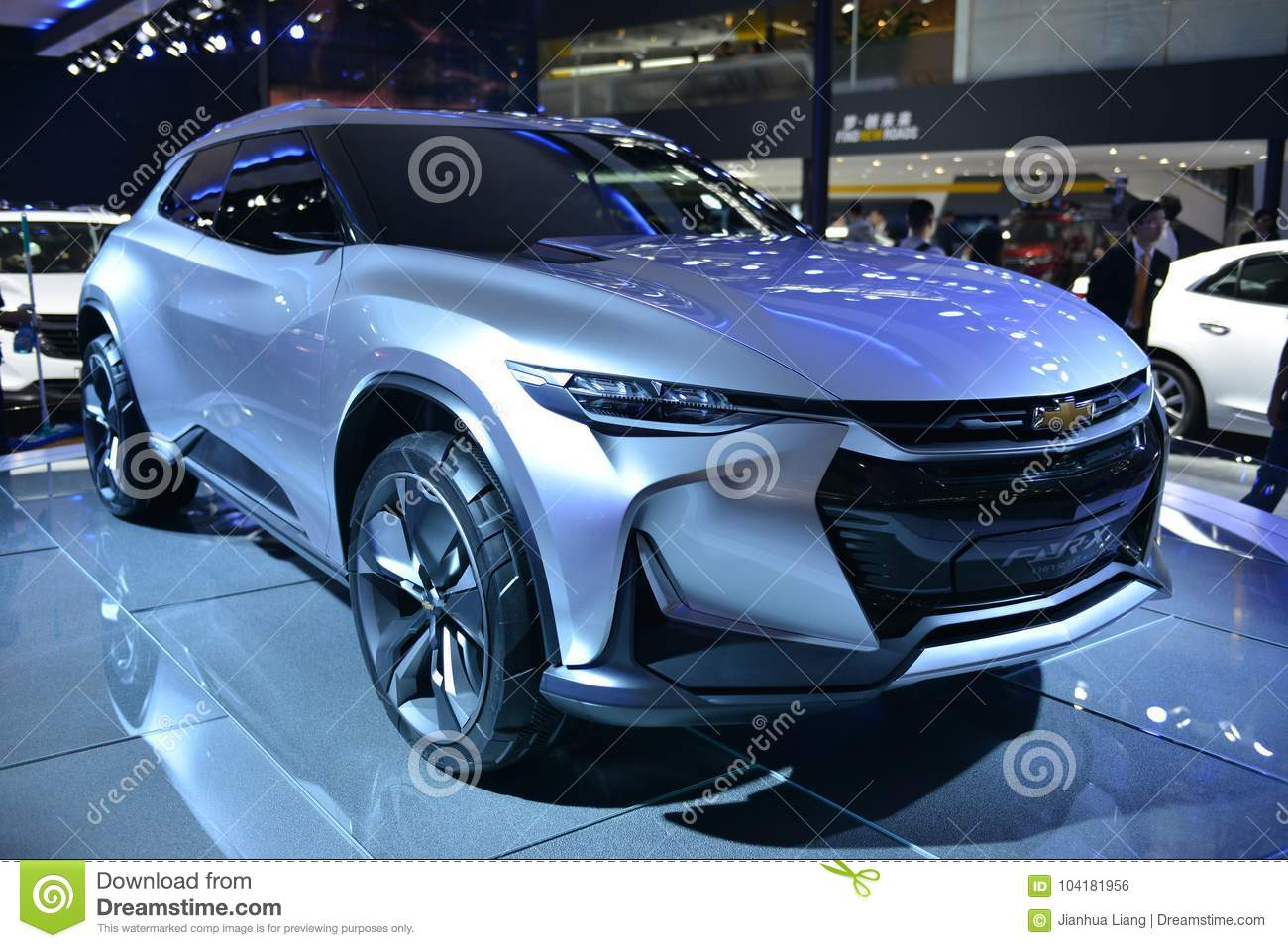 Chevrolet Fnr X All Purpose Sports Concept Vehicle Editorial Photo