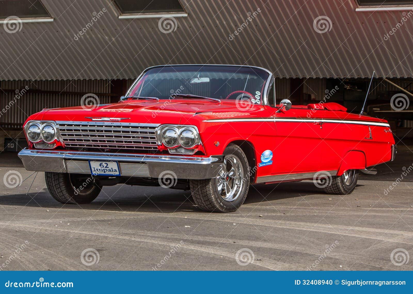 Chevrolet Impala 1962 Redaktionelles Bild Bild Von Automobile 32408940