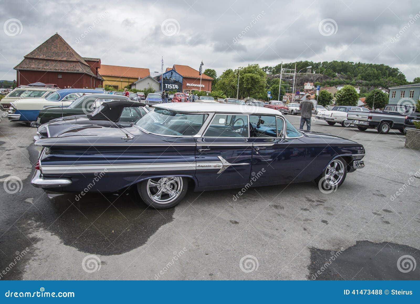 1960 Chevrolet Impala 4 Door Hardtop Sedan Editorial Stock Photo
