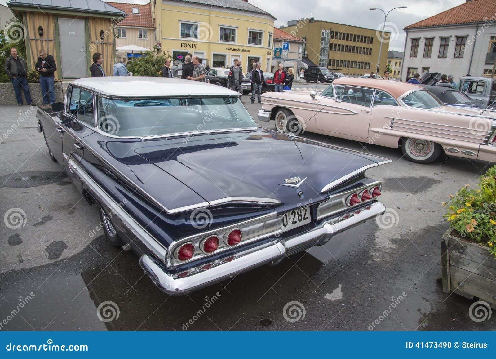 1960 Chevrolet Impala 4 Door Hardtop Sedan Editorial Image Image