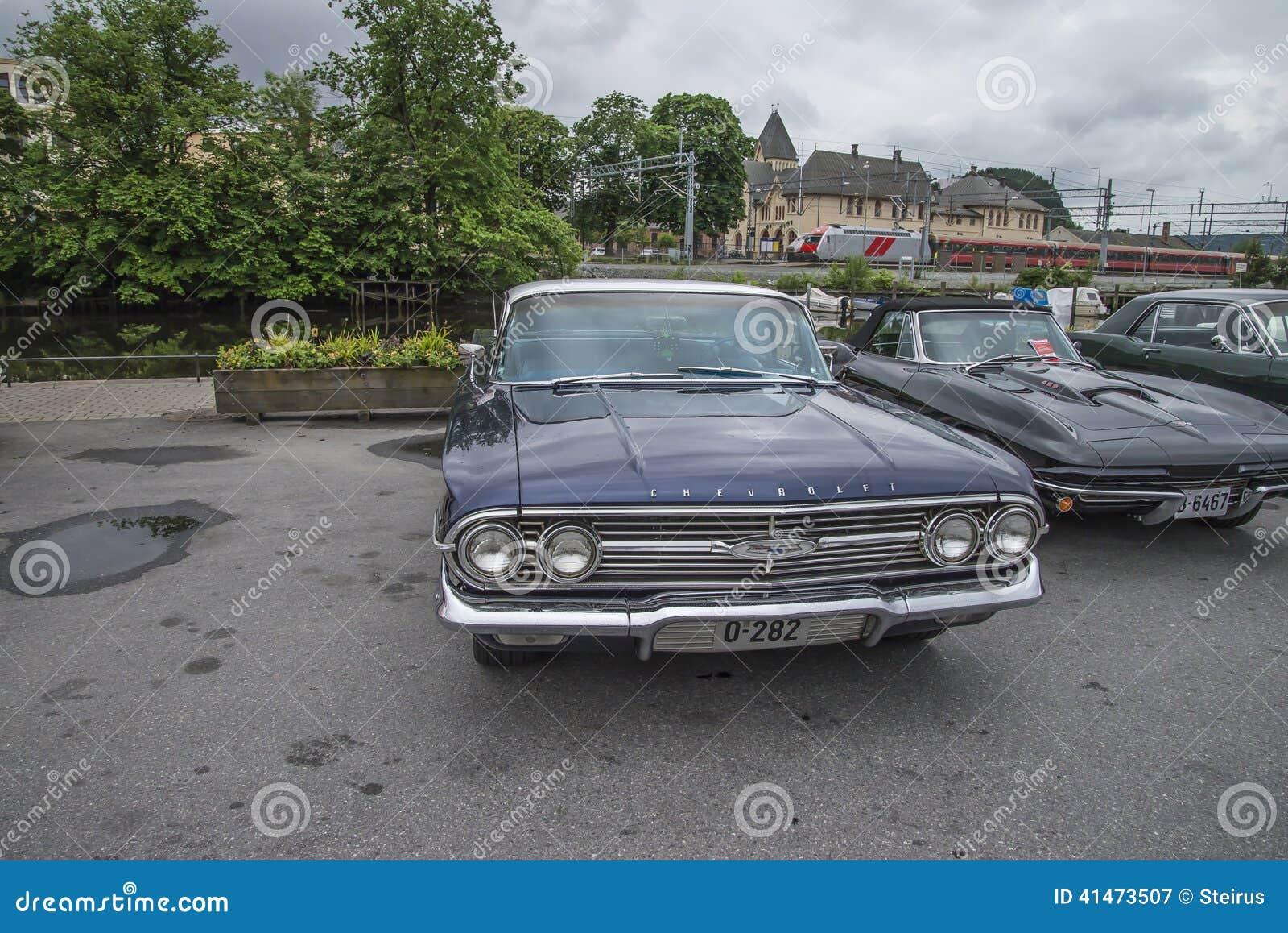 1960 Chevrolet Impala 4 Door Hardtop Sedan Editorial Photography