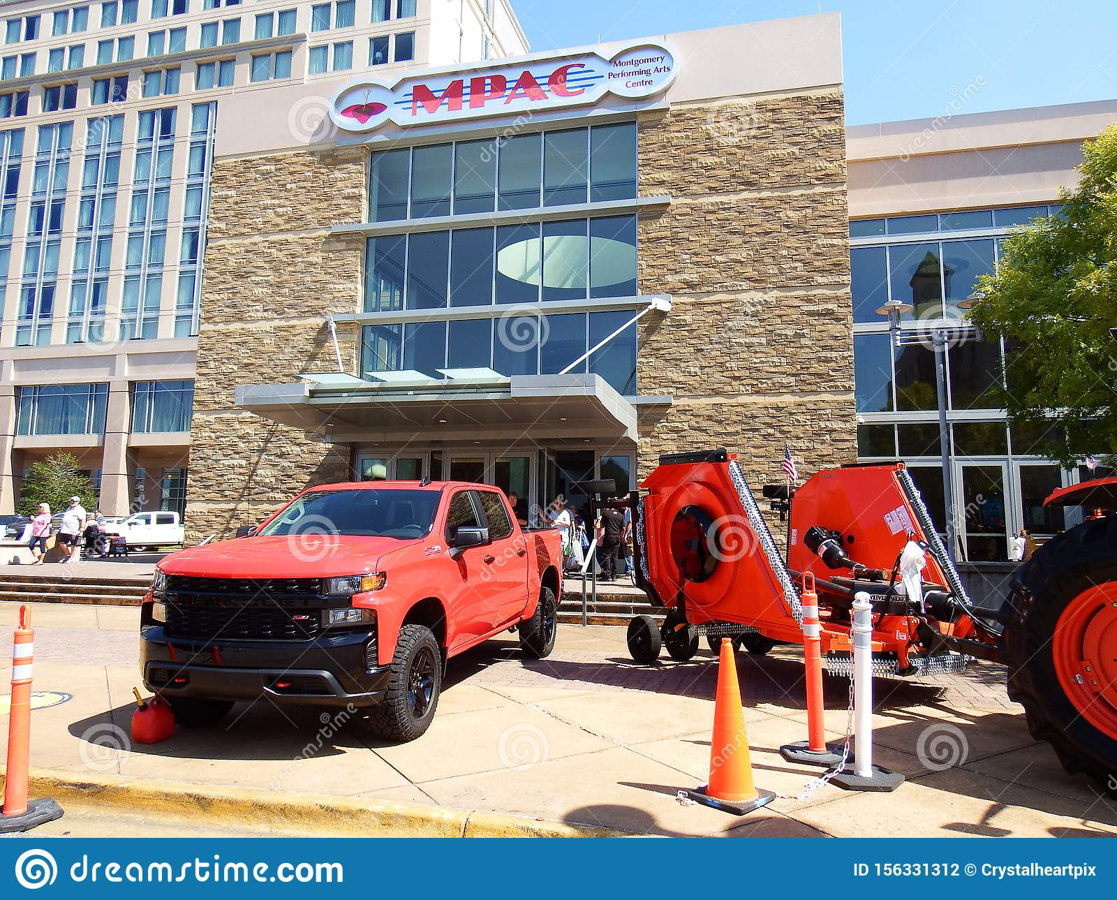 Chevrolet And Kubota Vehicle Displays Outside Buckmasters Archery Competition In Montgomery Alabama Editorial Photography Image Of Hunting Hobby 156331312
