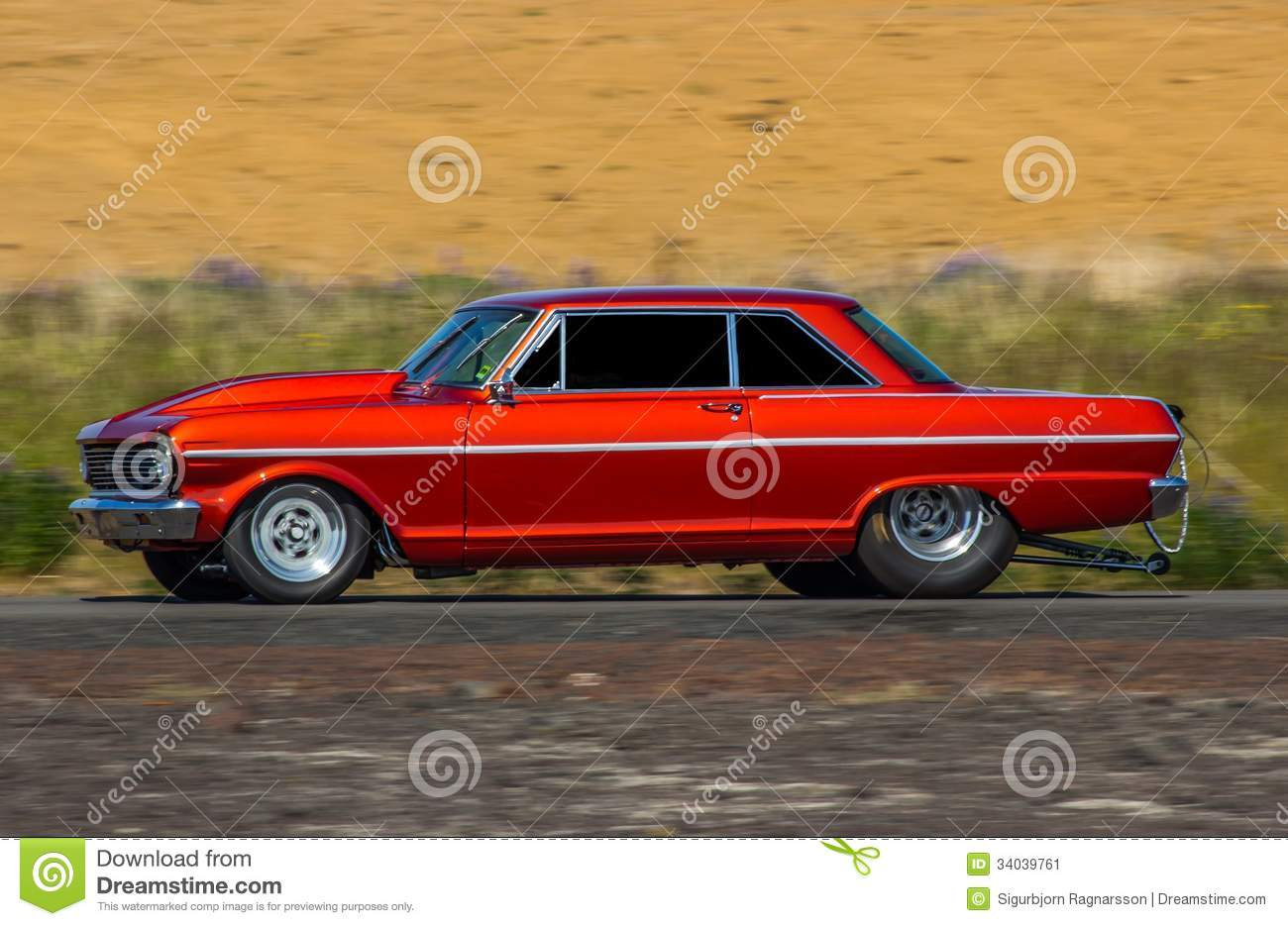 1965 Chevrolet Nova Stock Image Image Of Outdoors Burn 34039761